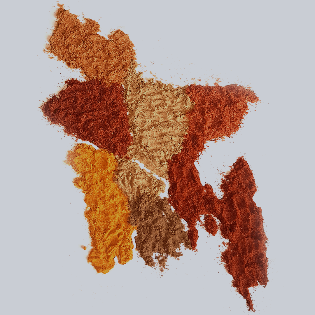 The spice map of Bangladesh